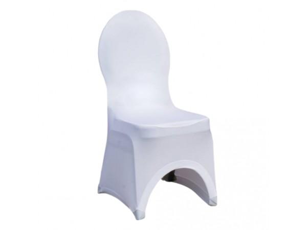 Pokrowiec na krzesło bankietowe WHITE