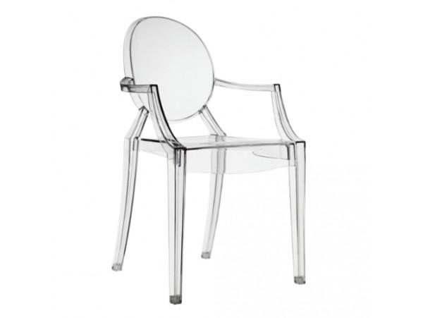 Krzesło przezroczyste TRANSPARENT