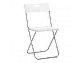 Krzesło Składane JF Białe
