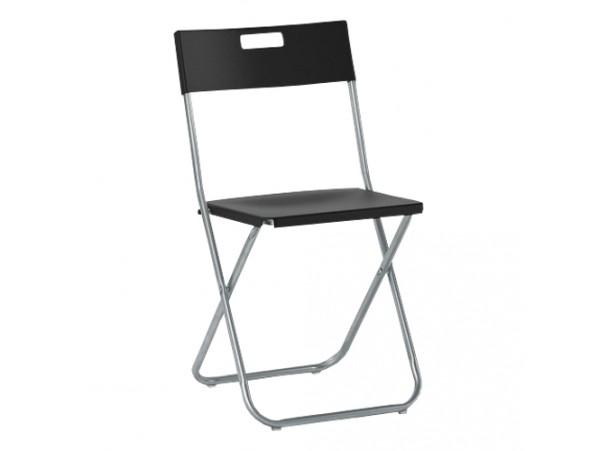 Krzesło Składane JF Czarne