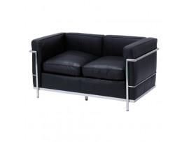 Sofa Le Corbusier Black