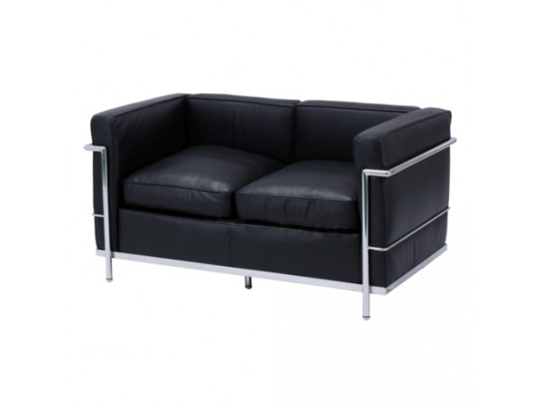 Sofa Le Corbusier Black