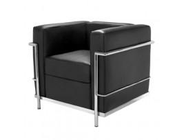 Fotel Le Corbusier Black
