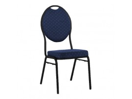 Krzesło Bankietowe Granatowe