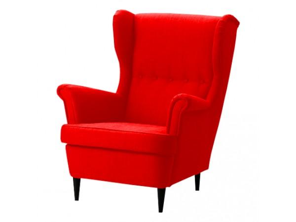 Fotel Carbone Czerwony