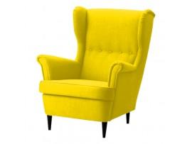 Fotel Carbone Żółty
