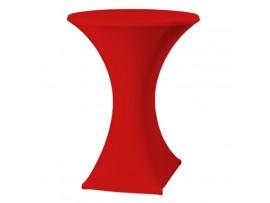 Pokrowiec Elastyczny na stolik koktajlowy czerwony